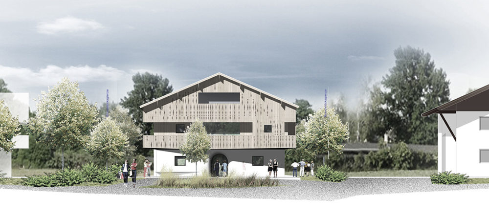Hotelanlage Rottach-Egern Ansicht-West