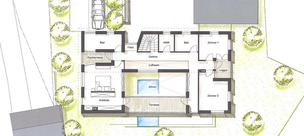 Atriumhaus OG