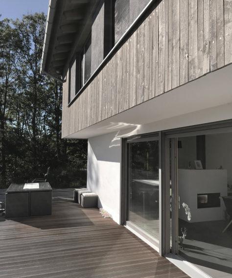 Wohnhaus mit Aussicht