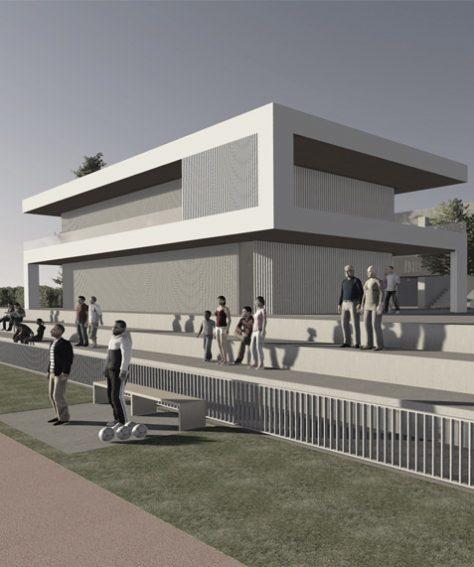 Erweiterung Sportstadium