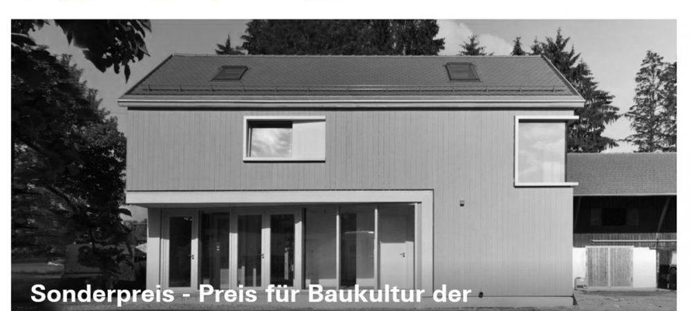 Preis für Baukultur