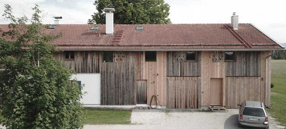 Bauernhofumbau