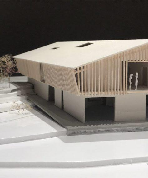Heustadl – Bürogebäude auf freiem Feld