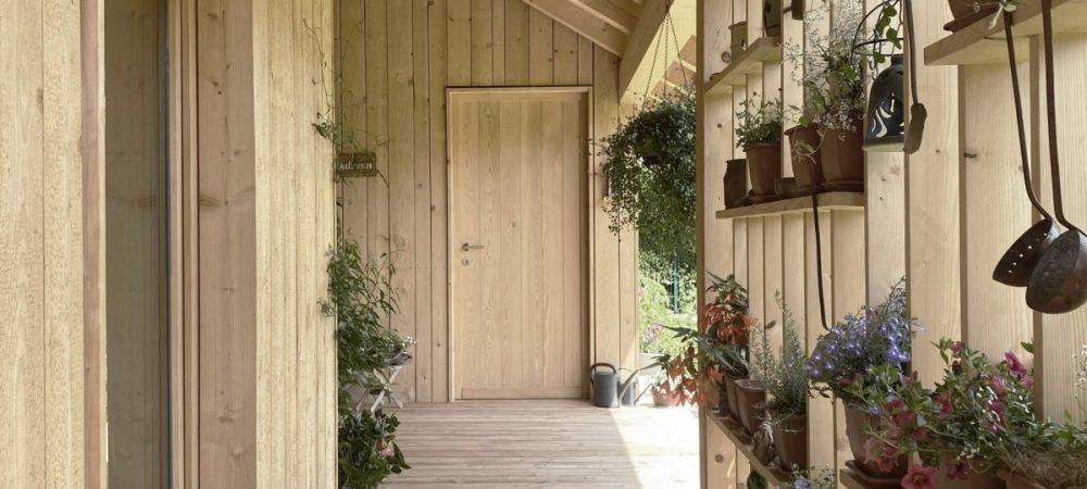 Veranda Holzbau Architektur