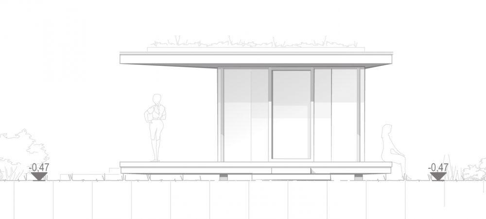 Version 1_Flachdach_Genehmigungsplanung_Garten-Pavillon_1