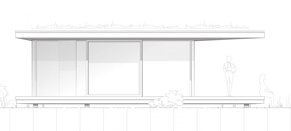 Version 1_Flachdach_Genehmigungsplanung_Garten-Pavillon_3